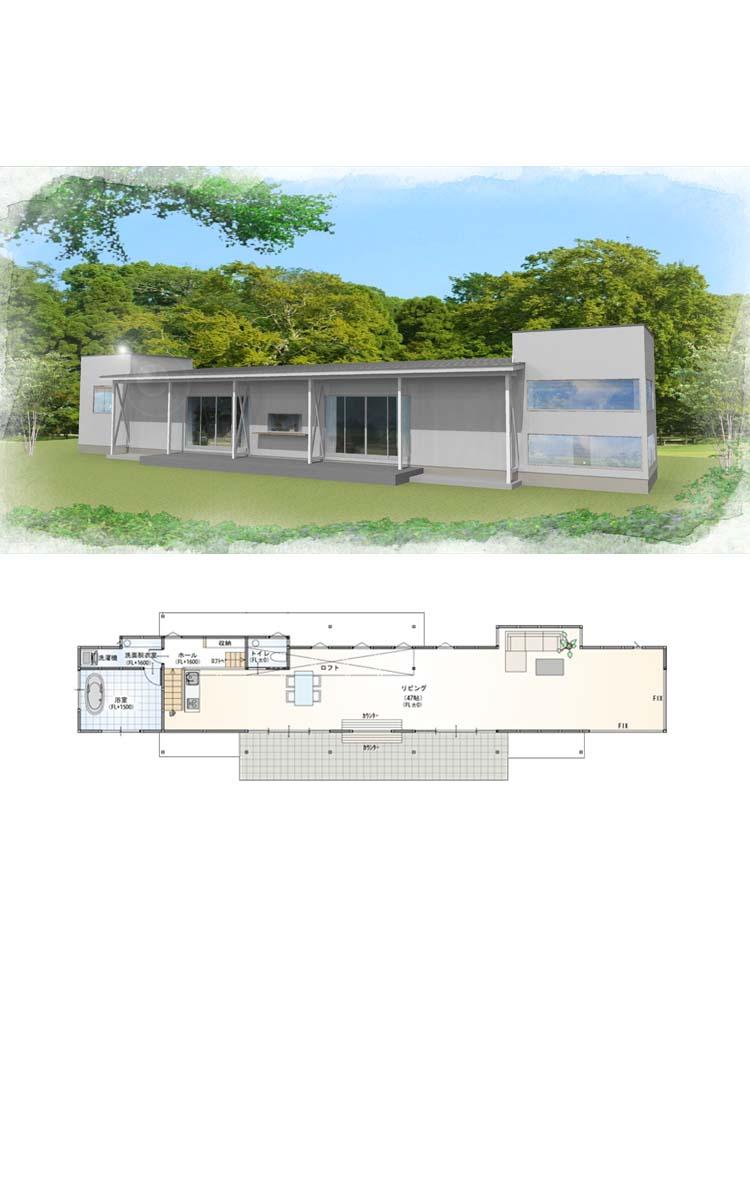 建築デザインプラン